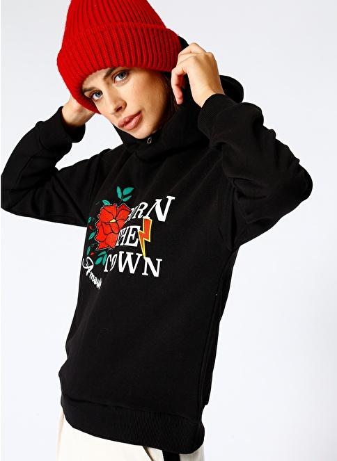 Black Pepper Sweatshirt Siyah